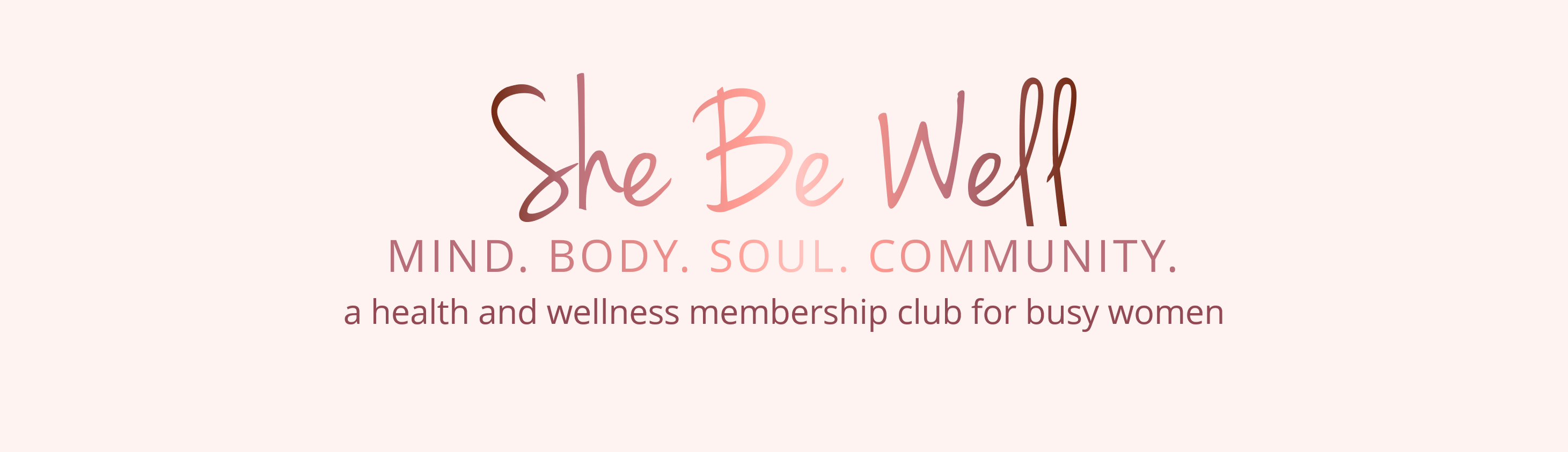 health and wellness community for women